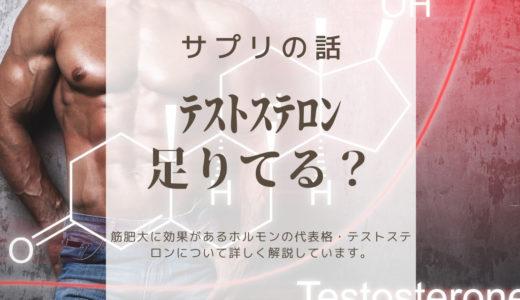 【テストステロン】筋トレ好きが知るべきテストステロン値を上昇させる方法3選【科学的根拠あり】